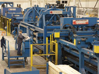McNeilus Steel Cut To Length Plate Line