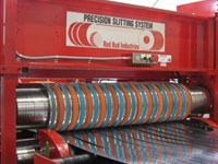Steel Technologies Slitting Line