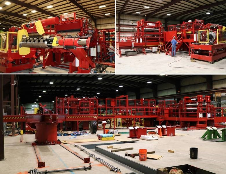 Red Bud Industries Slitting Line