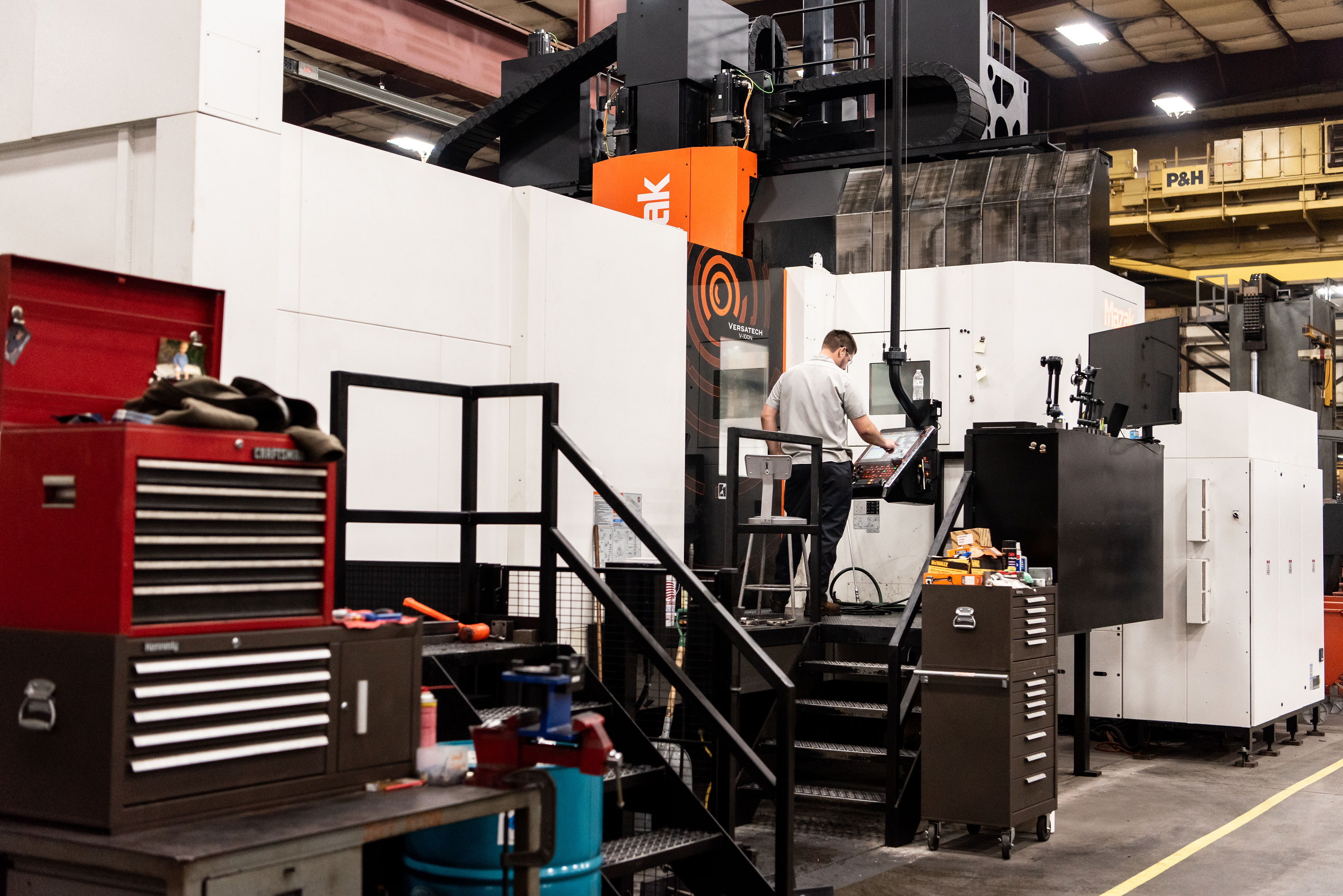 Double Pallet Machining Center