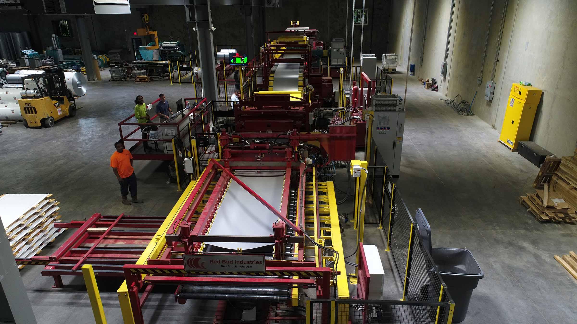Atlas Steel Blanking Line