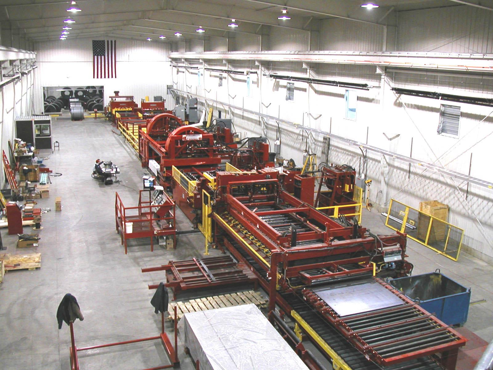 McNeilus Steel Blanking Line