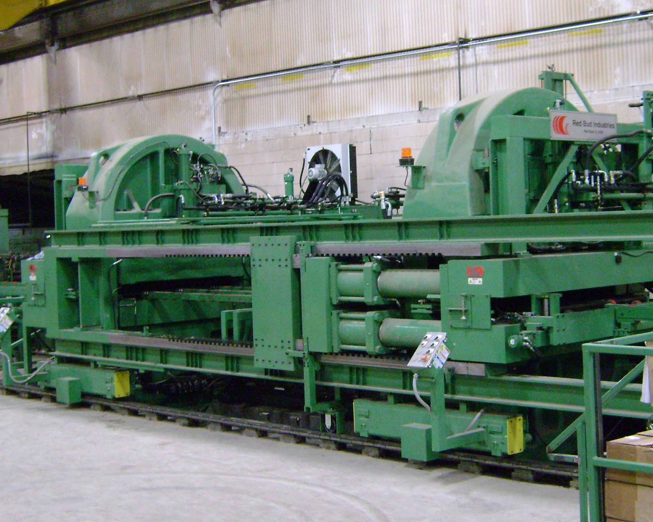 Ratner Steel Cut To Length Plate Line