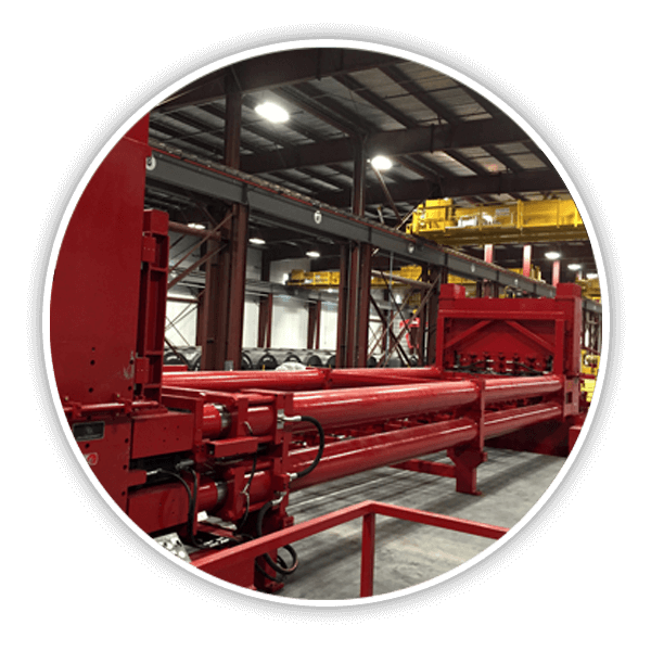 Red Bud Industries Stretch Leveling Line