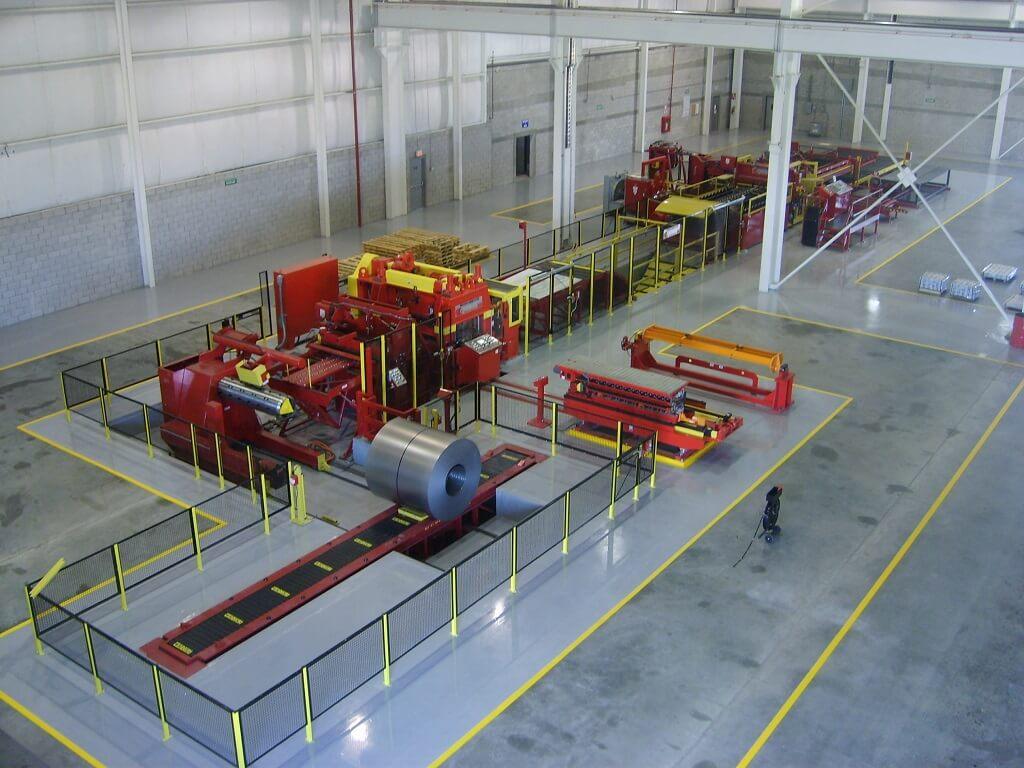 Steel Technologies Blanking Line