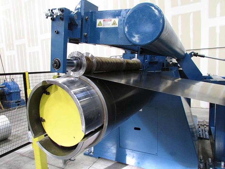 Petersen Aluminum Slitting Line