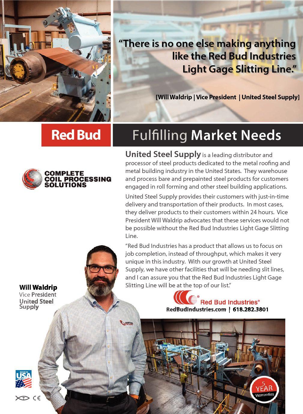 United Steel Supply Testimonial