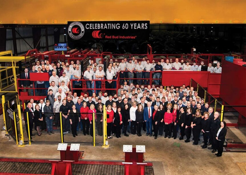 Red Bud Industries 60h Anniversary Company Photo