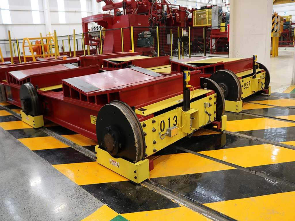 Red Bud Industries Coil Transfer Cars 2