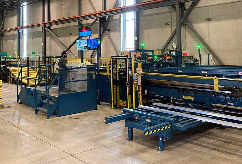 Magna Stainless Installs Red Bud Industries Precision Blanking Line