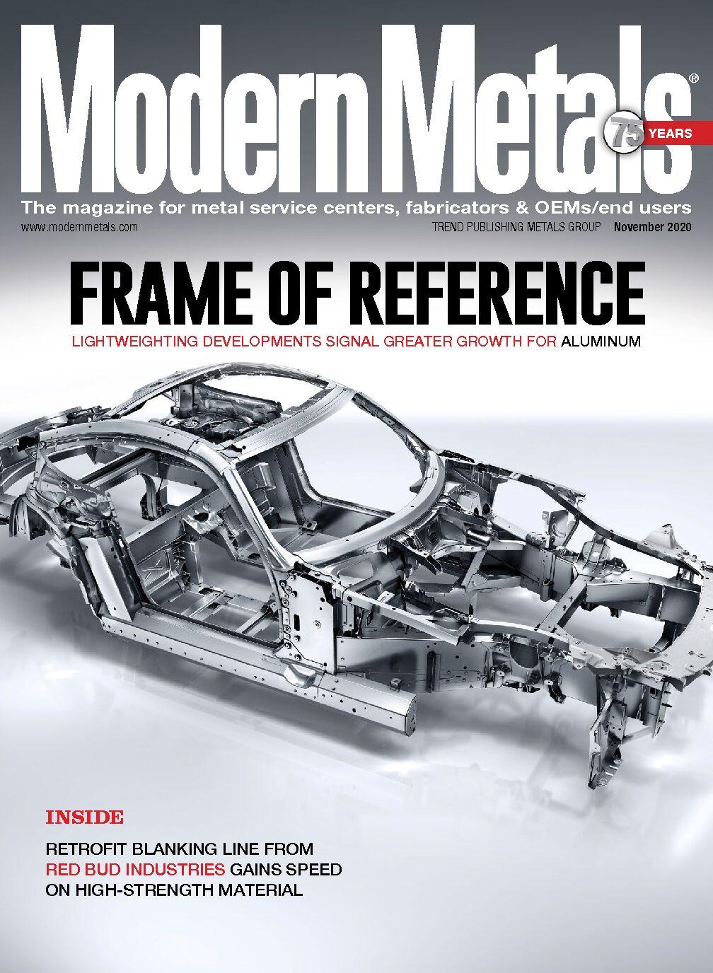 Modern Metals Magazine Feature