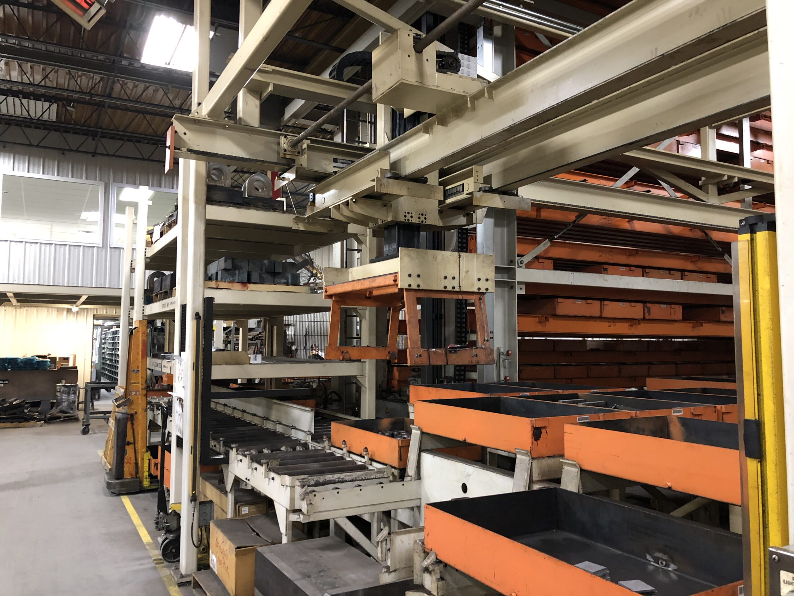 Automated Racking Storage System for parts and raw materials