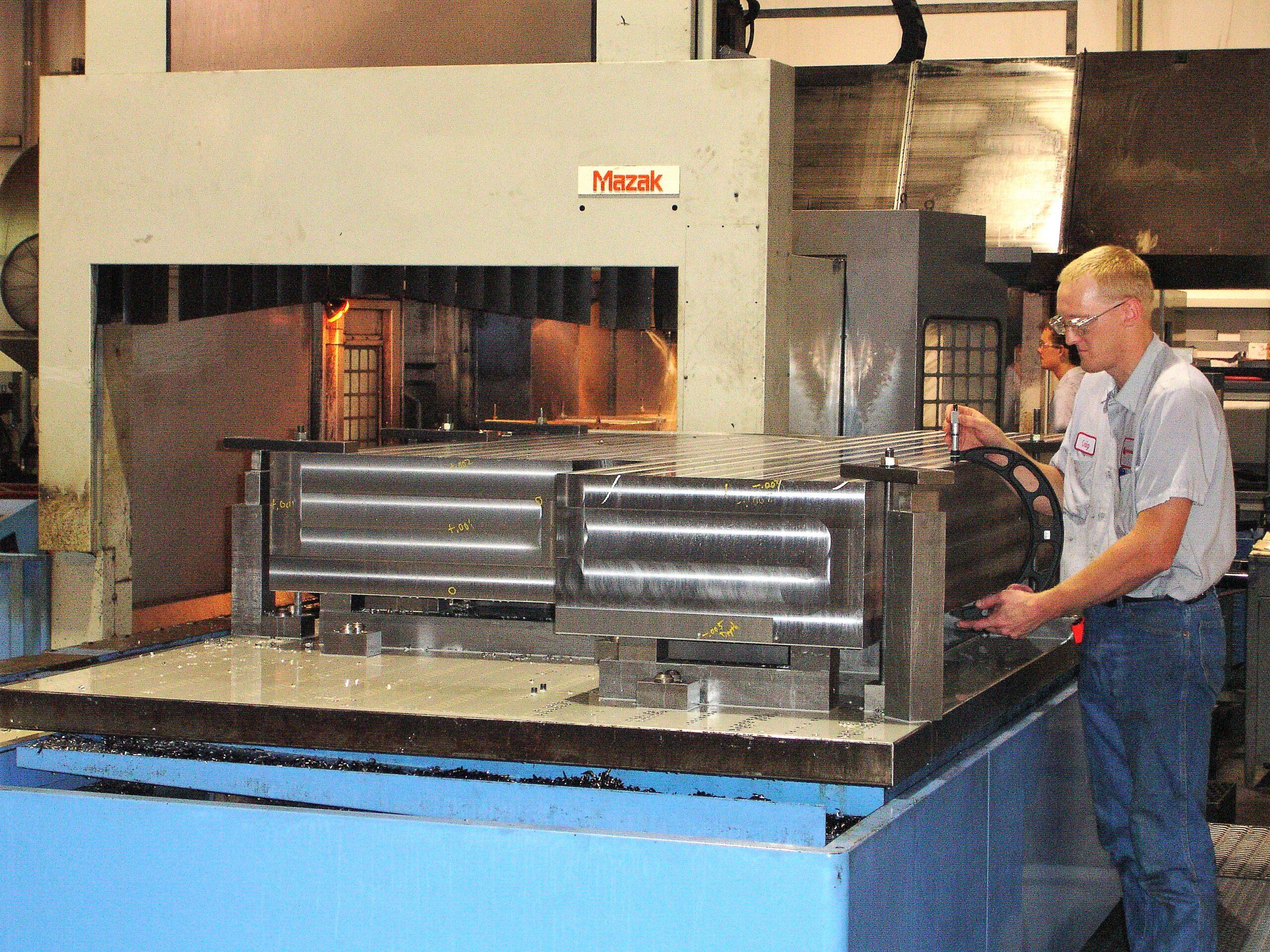 Mazak CNC Milling Machine with 15,000 Lbs part capacity